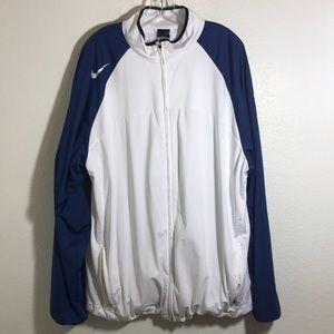 Nike Dri fit light zip down jacket XXL